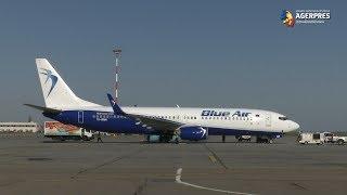 O aeronavă Blue Air a adus miercuri 3 milioane de măşti, dintr-un total de 90 de milioane importate de Naguma Medical Supply