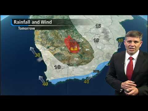 #SABCNews Weather forecast: 18 September 2017
