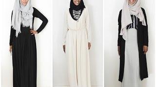 Maxi Dress Hijab Lookbook