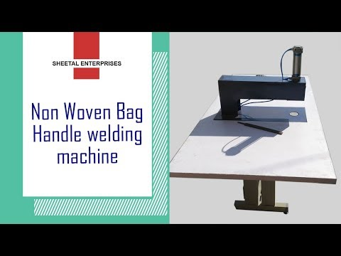 Ultrasonic Non Woven Bag Handle Loop Machine ( Single Head )