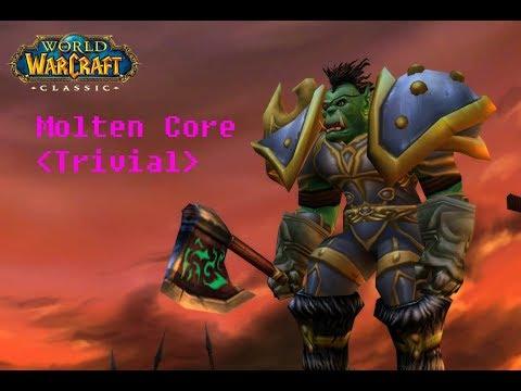 Classic Wow Molten Core Raid