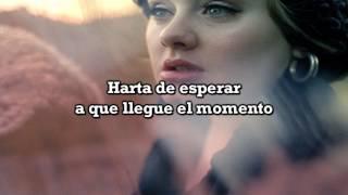 Tired, Adele   Español