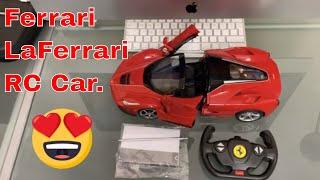 AFFORDABLE RC Toys- Ferrari LaFerrari Aperta Rastar RC Car, unboxing, Tested & Review.