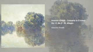 Concerto in E-flat major Op. 30; G minor Op. 12