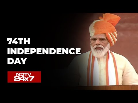 Watch: PM Modi's Speech At Red Fort On 74th Independence Day