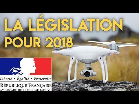 La législation du Drone pour 2018