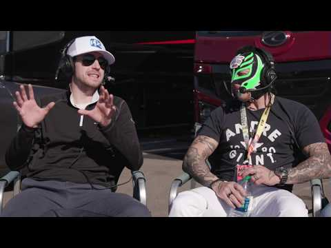 WWE legend Rey Mysterio Jr. joins and Blaney's dog cohosts