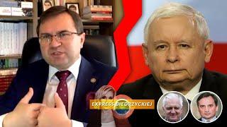 BŁĄD Kaczyńskiego ws. ZIOBRY i Gowina?! Girzyński GRZMI: Nigdy NIE WZIĄŁBYM ich do rządu!