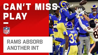Rams Defense Absorbs Another Nick Foles INT