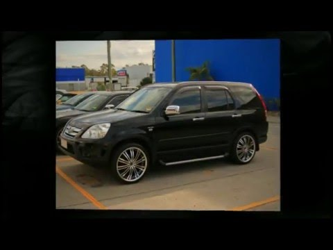 Honda CRV custom rims 20' inch Versus Turbine Wheels