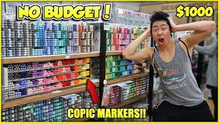 NO BUDGET AT THE ART STORE SHOPPING SPREE! (Worlds Biggest Art Store) - Japan Vlog #4