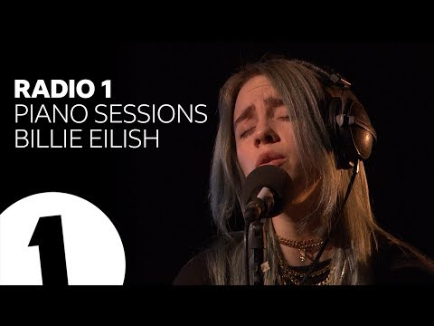 Billie Eilish - when the party's over - Radio 1 Piano Sessions