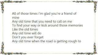 Christopher Cross - Any Old Time Lyrics