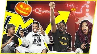 HILARIOUS HALLOWEEN FAMILY BOSS FIGHT! - Stick Fight Gameplay