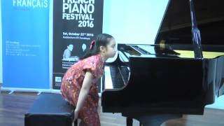 Talented Piano Kid Maggie Tse (7) plays Sonatine Bureaucratique, Erick Satie @ French Piano Festival