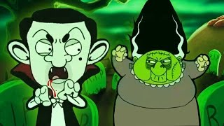 ᴴᴰ Mr Bean Halloween Specials! ☺ Best New Spooky 2016 Cartoon Collection ☺