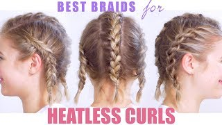 Best Braids For Heatless Curls Or Waves | Milabu
