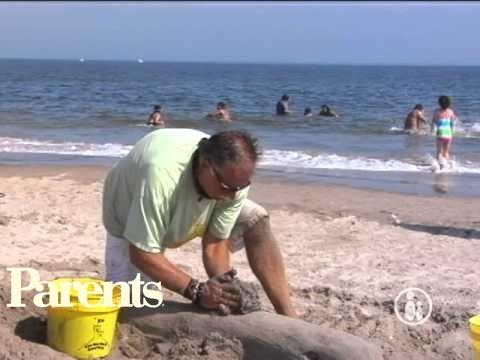 sand sculpture tutorial