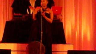 Chrisette Michele singing Porcelain Doll at AAMU