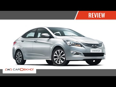 Hyundai 4S Fluidic Verna I Review of Features | CarDekho.com
