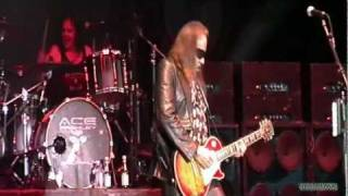 ACE FREHLEY - Snow Blind / I Want You / Rock Soldiers [ Hamburg, NY 8/17/11 ]