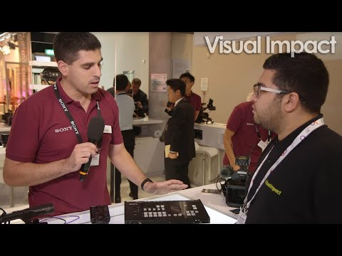 IBC 2016: Sony MCX-500 Multi-Camera Live Producer Switcher - Visual