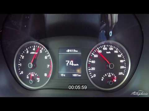 2017 Kia Rio 1.0 T-GDI (100hp): Acceleration 0 - 110+ kph / 0 - 68+ mph - Autophorie
