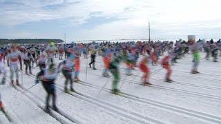 Сергей Устюгов выиграл югорский лыжный марафон. Петтер Нортуг - второй
