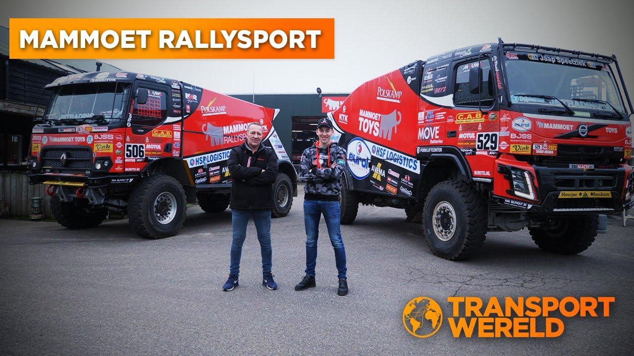 Mammoet Rallysport klaar voor Dakar 2021!