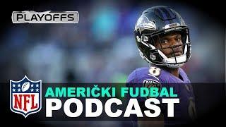 Analiza Wild Card Mečeva u NFL #2019 | SPORT KLUB Podcast