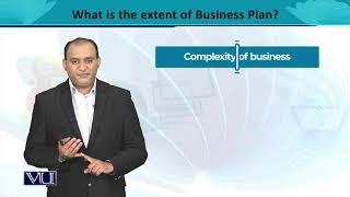 Extent of a Business Plan 04