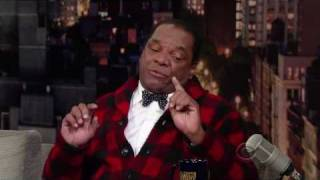 John Witherspoon on The late Show with David Letterman 12 22 2009