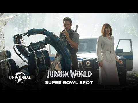 Jurassic World Commercial for Super Bowl XLIX 2015 (2015) (Television Commercial)