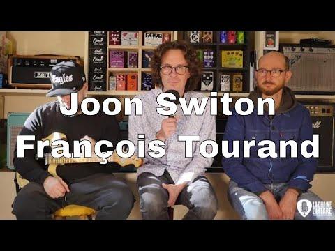 Joon Switon et François Tourand - Un Musicien et Son Luthier au showroom de La Chaîne Guitare