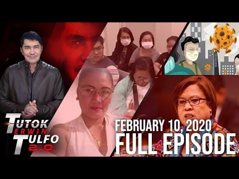 [Erwin Tulfo]  TUTOK ERWIN TULFO 2.0   FEBRUARY 10, 2020 FULL EPISODE
