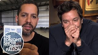 David Blaine Freaks Jimmy Out with Card Tricks