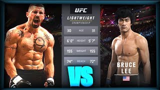 UFC БОЙ Юрий Бойка vs Брюс Ли (com.vs com.)