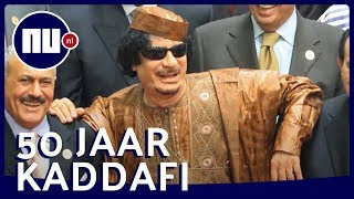 Machtsgreep Kaddafi 50 jaar geleden: Van nomadenzoon tot dictator | NU.nl