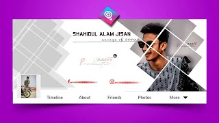 How To Make A Stylish Professional Facebook Cover Photo With Picsart - New Picsart Tutorials 2020 .