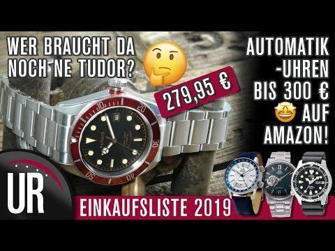 AUTOMATIKUHREN BIS 300€ AUF AMAZON | MEINE EINKAUFSLISTE 2019