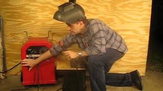 Lincoln AC/DC 225/125 Arc Welder Demo 11-04-2012 (004).AVI
