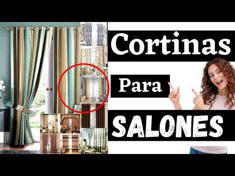 🥇 Modelos de Cortinas de Salón baratas y elegantes ✔️ Cortinas para salón modernas en amazon → 2020