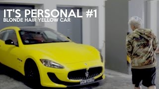 IT'S PERSONAL #1: BLONDE HAIR YELLOW CAR