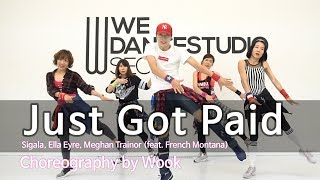 Gambar cover Just Got Paid - Sigala, Ella Eyre, Meghan Trainor(feat. French Montana) / Zumba® / POP / Wook
