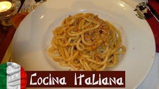 Gastronomía Italiana - Italian Cuisine. Rome, Roma 2013