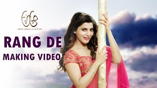 Rang De Song Making - A Aa