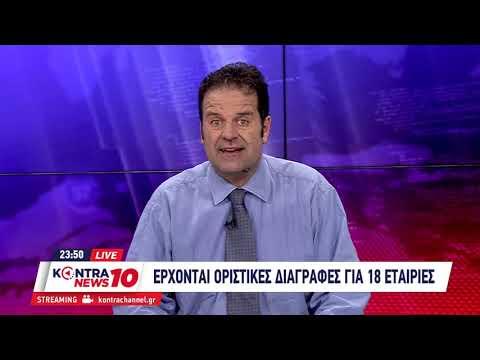 Ανέστης Ντόκας - Επιχειρηματικά Νέα στο Kontra News 20/1/2020