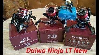 Катушка безынерционная daiwa 18 ninja lt 3000-cxh