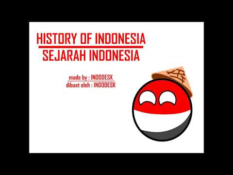 History Of Indonesia In Countryballs