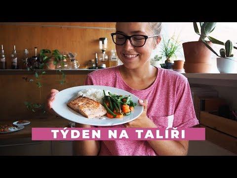 TÝDEN NA TALÍŘI | Poprvé se zdravým jídelníčkem!